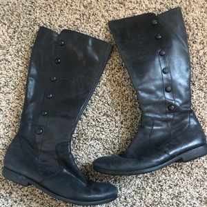 Born Brand Leather Boots